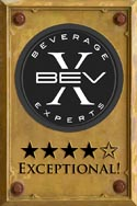 Vodka & Gin rated Exceptional!