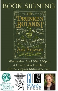 Amy Stewart Book Signing @ Great Lakes Distillery | Milwaukee | Wisconsin | United States