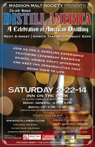 Distill America @ Inn on the Park  | Madison | Wisconsin | United States