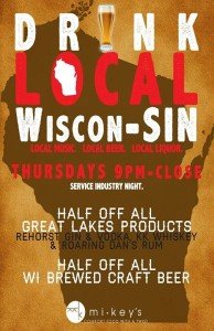 Drink Local! @ Mikey's Milwaukee | Milwaukee | Wisconsin | United States