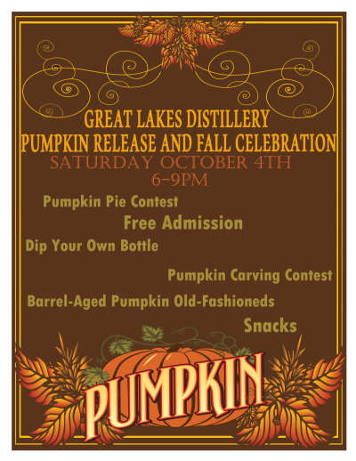 Pumpkin Release Party @ Great Lakes Distillery | Milwaukee | Wisconsin | United States