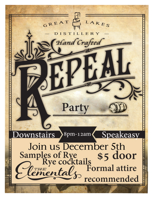Repeal Day @ Great Lakes Distillery | Milwaukee | Wisconsin | United States
