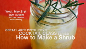 COCKTAIL CLASS SERIES: HOW TO MAKE A SHRUB @ Great Lakes Distillery | Milwaukee | Wisconsin | United States