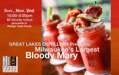 Milwaukee's Largest Bloody Mary Party @ Great Lakes Distillery | Milwaukee | Wisconsin | United States