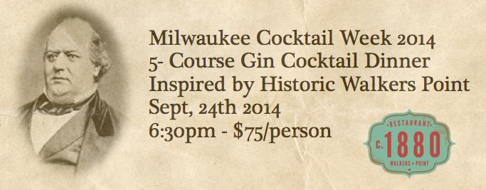 MKE-Cocktail week 1880