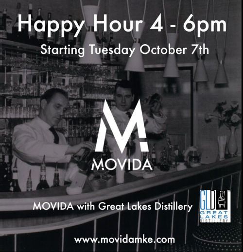 Movida Happy Hour Launch Party @ Movida | Milwaukee | Wisconsin | United States