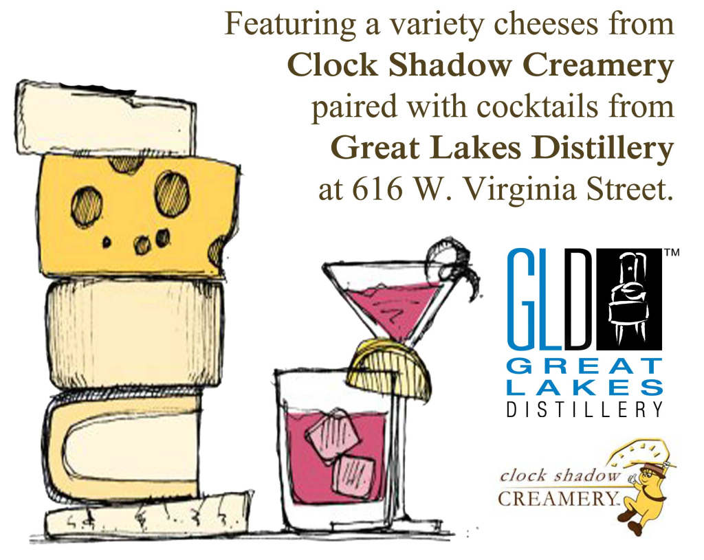 Cocktail & Cheese Happy Hour @ Great Lakes Distillery | Milwaukee | Wisconsin | United States