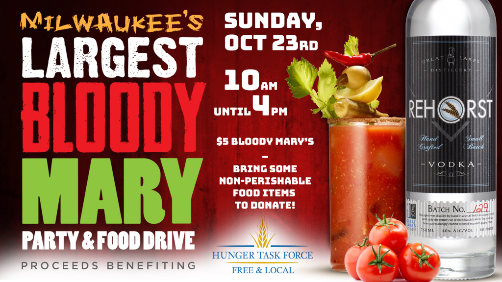 Milwaukee's Largest Bloody Mary! @ Great Lakes Distillery | Milwaukee | Wisconsin | United States
