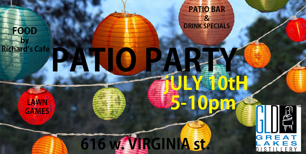 Patio Party! @ Great Lakes Distillery | Milwaukee | Wisconsin | United States