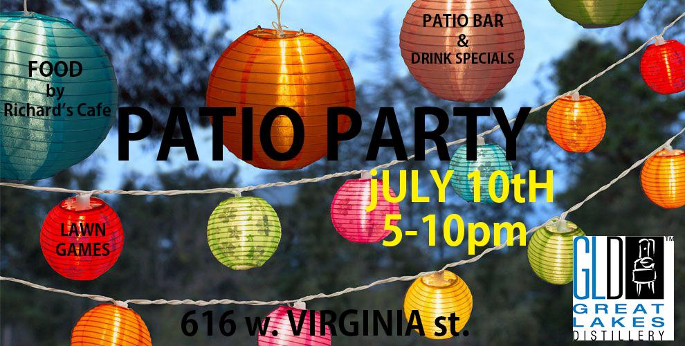 PATIO PARTY
