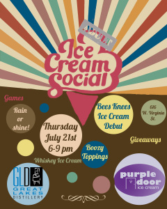 (adult) Ice Cream Social @ Great Lakes Distillery | Milwaukee | Wisconsin | United States