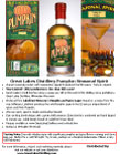Great Lakes Distillery Pumpkin Seasonal  Spirit