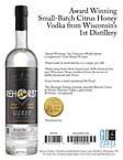 Rehorst Citrus & Honey Vodka Sell Sheet