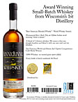Kinnickinnic Whiskey Sell Sheet