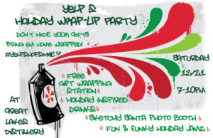 Wrap up party poster for web