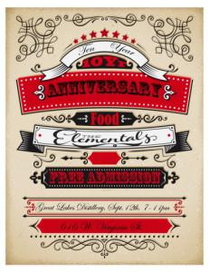 10 yr poster for newsletter