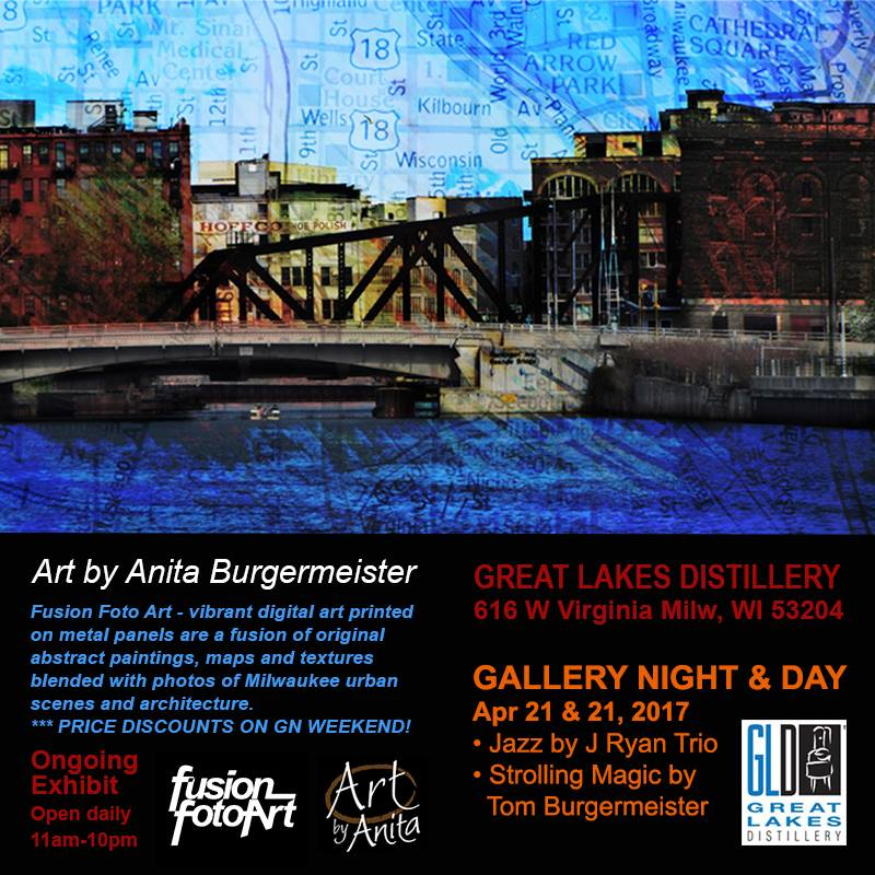 Summer Gallery Night w/Sara Bott @ Great Lakes Distillery | Milwaukee | Wisconsin | United States