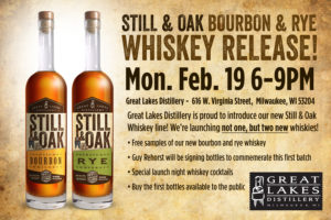 Still & Oak Straight Whiskey Release Party @ Great Lakes Distillery | Milwaukee | Wisconsin | United States