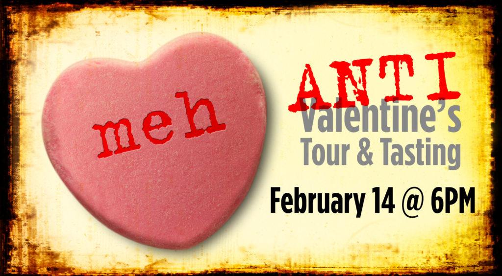 Anti-Valentines Tour & Tasting @ Great Lakes Distillery | Milwaukee | Wisconsin | United States