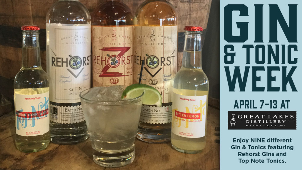 Gin & Tonic Week at GLD @ Great Lakes Distillery | Milwaukee | Wisconsin | United States