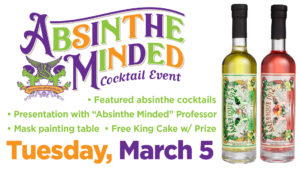 Absinthe Minded Cocktail Event @ Great Lakes Distillery | Milwaukee | Wisconsin | United States