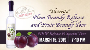 Plum Brandy Release & Exclusive Fruit Brandy Tour @ Great Lakes Distillery | Milwaukee | Wisconsin | United States