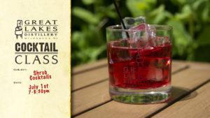 Shrub Cocktail Class