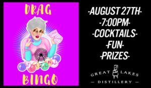 Drag Queen Bingo: Ester on the Green @ Great Lakes Distillery | Milwaukee | Wisconsin | United States
