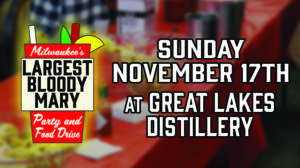Milwaukee's Largest Bloody Mary Party - 2019 @ Great Lakes Distillery | Milwaukee | Wisconsin | United States