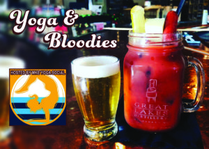 March 2021 Yoga and Bloodies @ Great Lakes Distillery