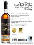 Kinnickinnic Whiskey Sell Sheet